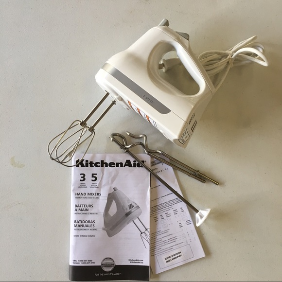 Kitchenaid Other 5speed Ultra Power Hand Mixer White Poshmark
